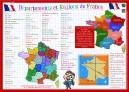 Régions & Départements de France
